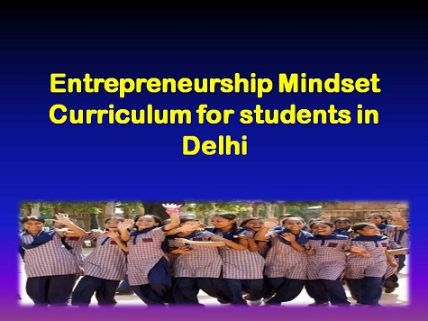 Entrepreneurship Mindset Curriculum in Delhi