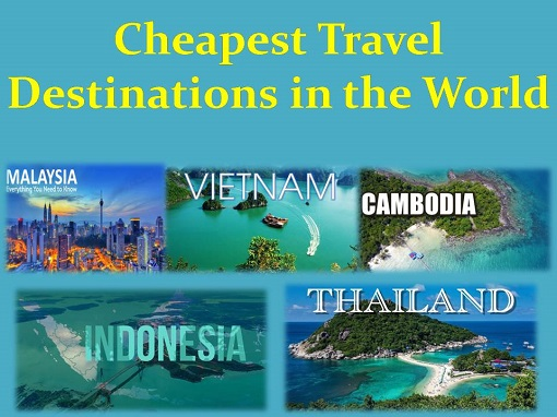 Cheapest travel destinations in the world