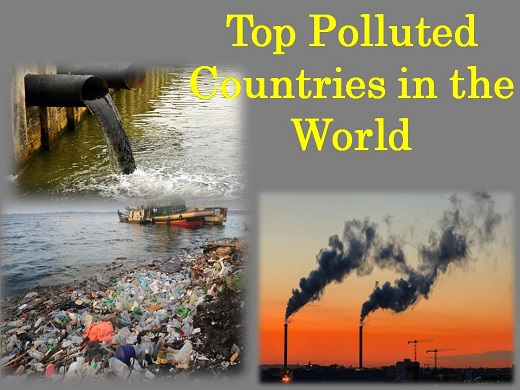 top ten polluted countries of world